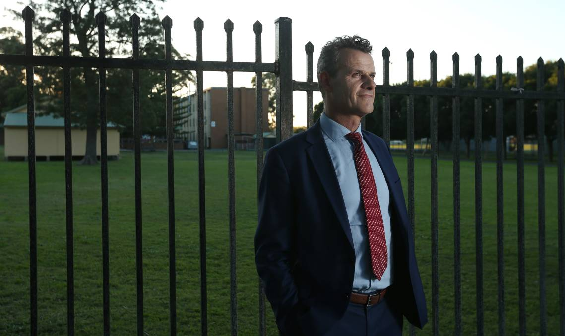 "Breaking Down Barriers: Newcastle MP Tim Crakanthorp said the cannabis data ""strengthens the argument that our drug laws need to change"". Picture: Simone De Peak"