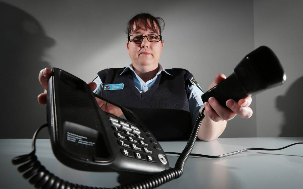 NSW Police are warning the public to be wary of phone scammers. Picture: JOHN RUSSELL