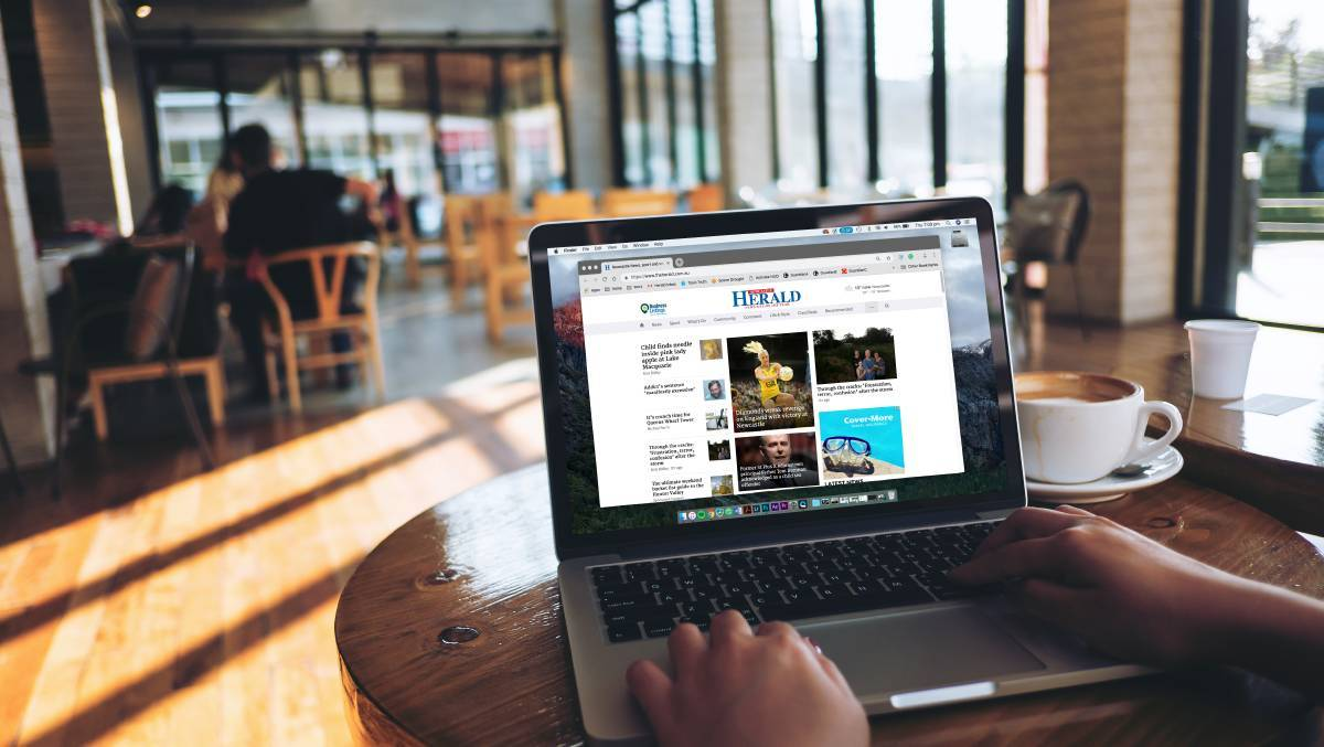 CONNECTED: Digital subscribers get full access to all the Newcastle Herald's news, sport, opinion and features, as well as the Herald's digital edition of the newspaper.