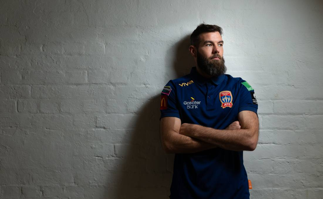 RESPECT: Newcastle Jets import Joe Ledley has spoken about the A-League on a BBC podcast. Picture: Max Mason-Hubers