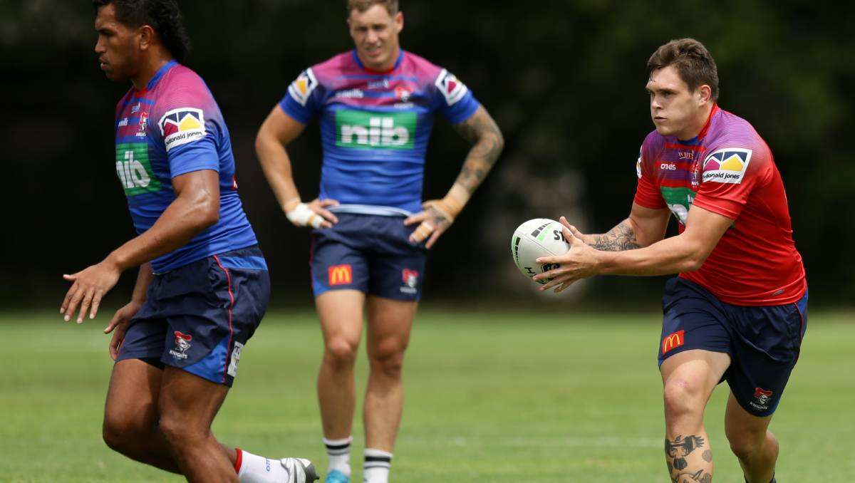 Knights keen to retain young back-rower Brodie Jones