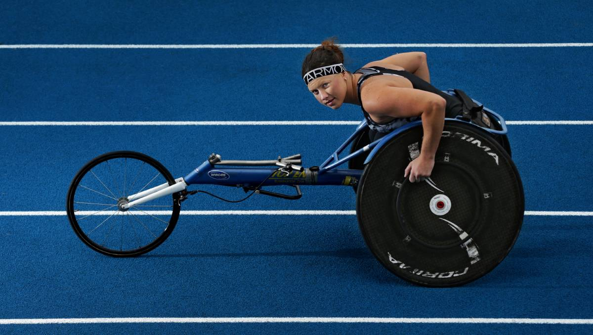 Paralympian Lauren Parker conquers the pain barrier with sheer courage