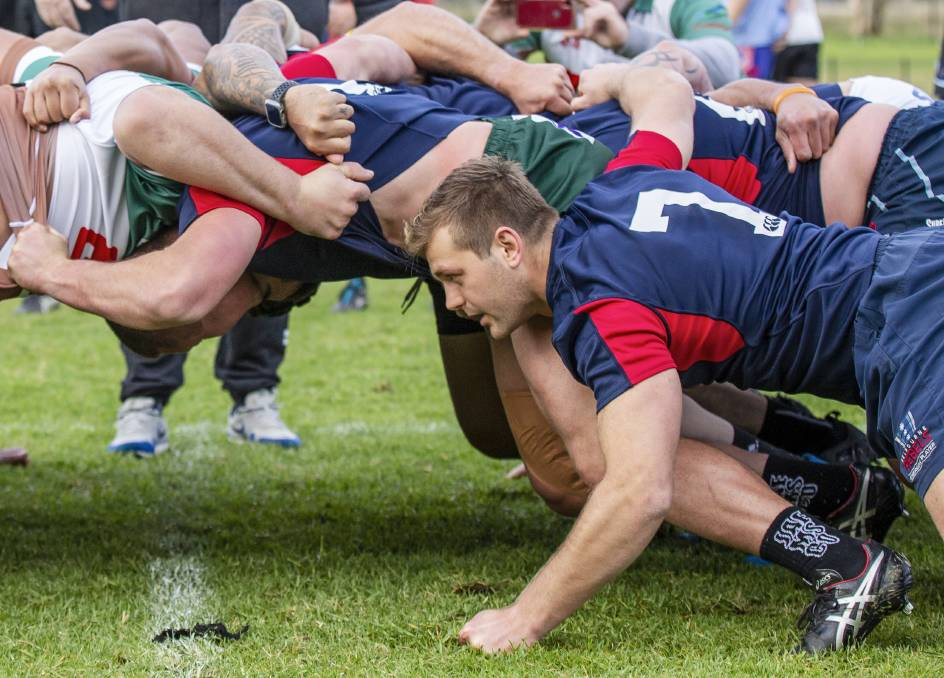 ON DEBUT: Shawn Ingle will pack down on the side of the Wildfires scrum against Eastwood at No.2 Sportsground on Saturday. Picture: Stewart Hazell