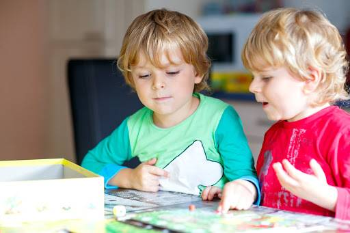 Board games are a great inexpensive way to entertain children. Picture: Shutterstock