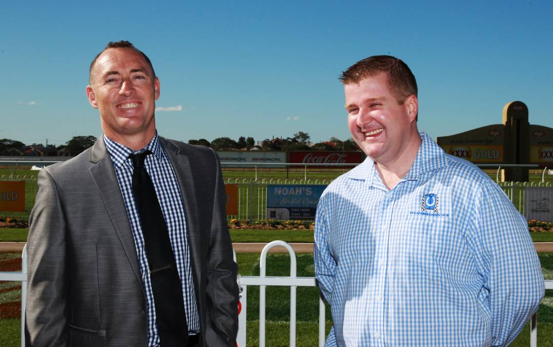 Australian Bloodstock's Jamie Lovett and Luke Murrell