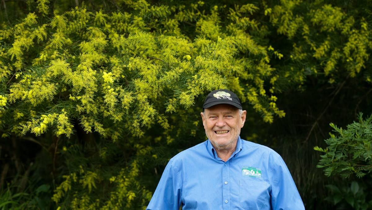 Smiles make hard work worthwhile for wetlands volunteer Barry Horvath
