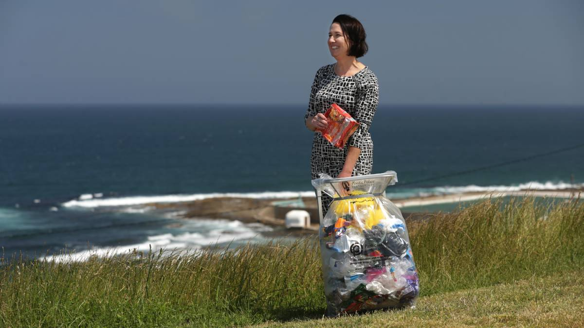 SUSTAINABILITY: Samantha Cross is on a mission to reduce soft plastic wastage through education and recycling. Picture: Simone De Peak