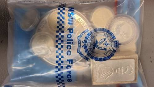 Silver and gold bars, bullions and drugs seized