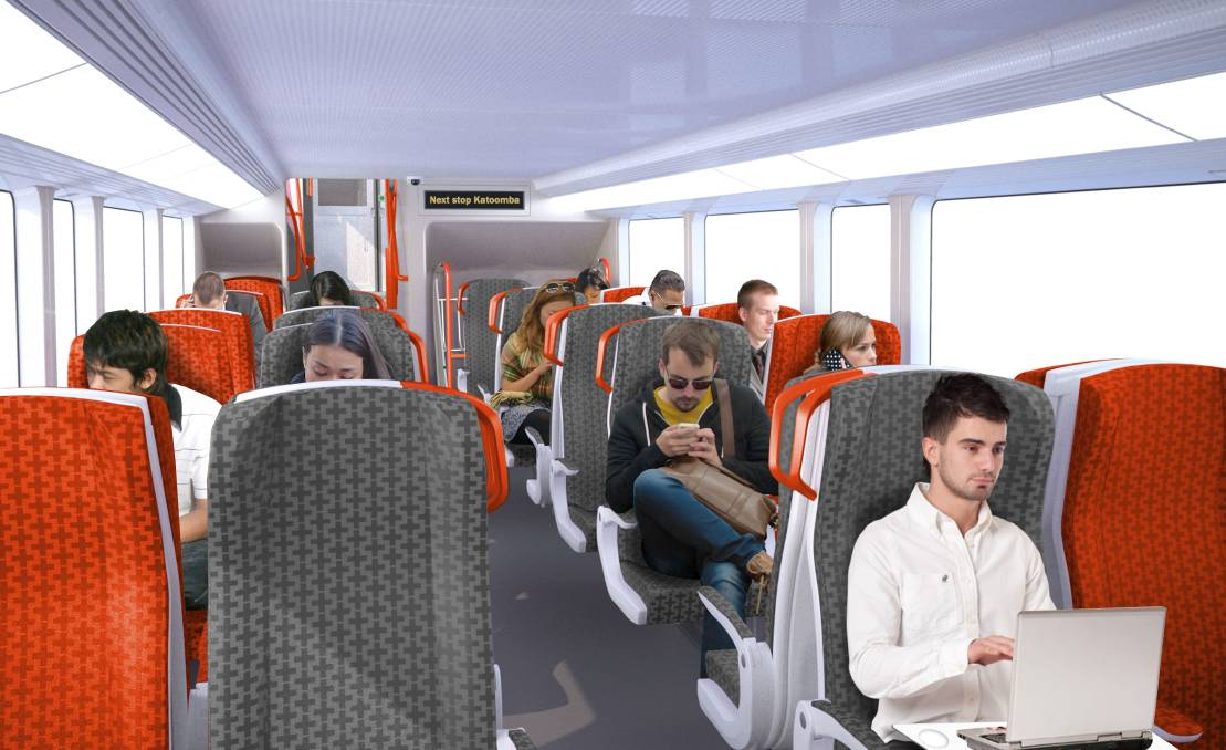 The new-look carriages