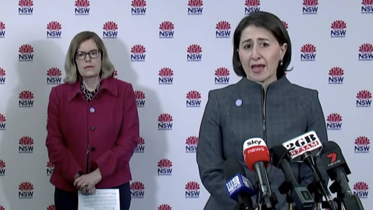 Premier's update: Three new cases in NSW, as most school students return to class