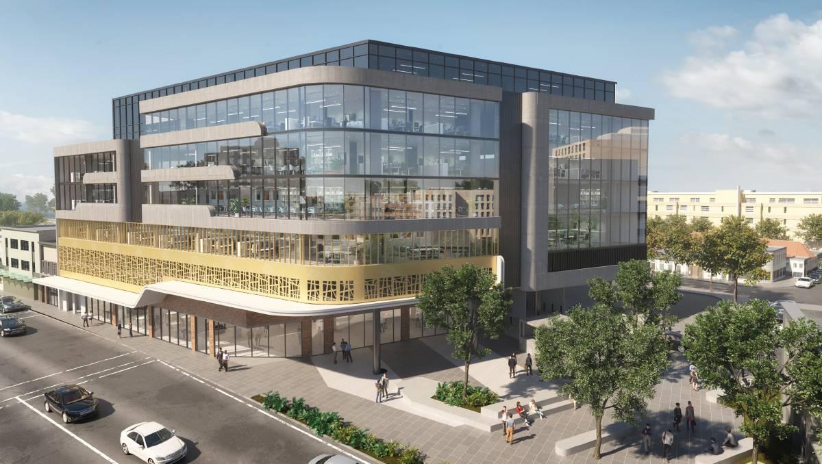 Coronavirus can't stop Newcastle's latest office redevelopment