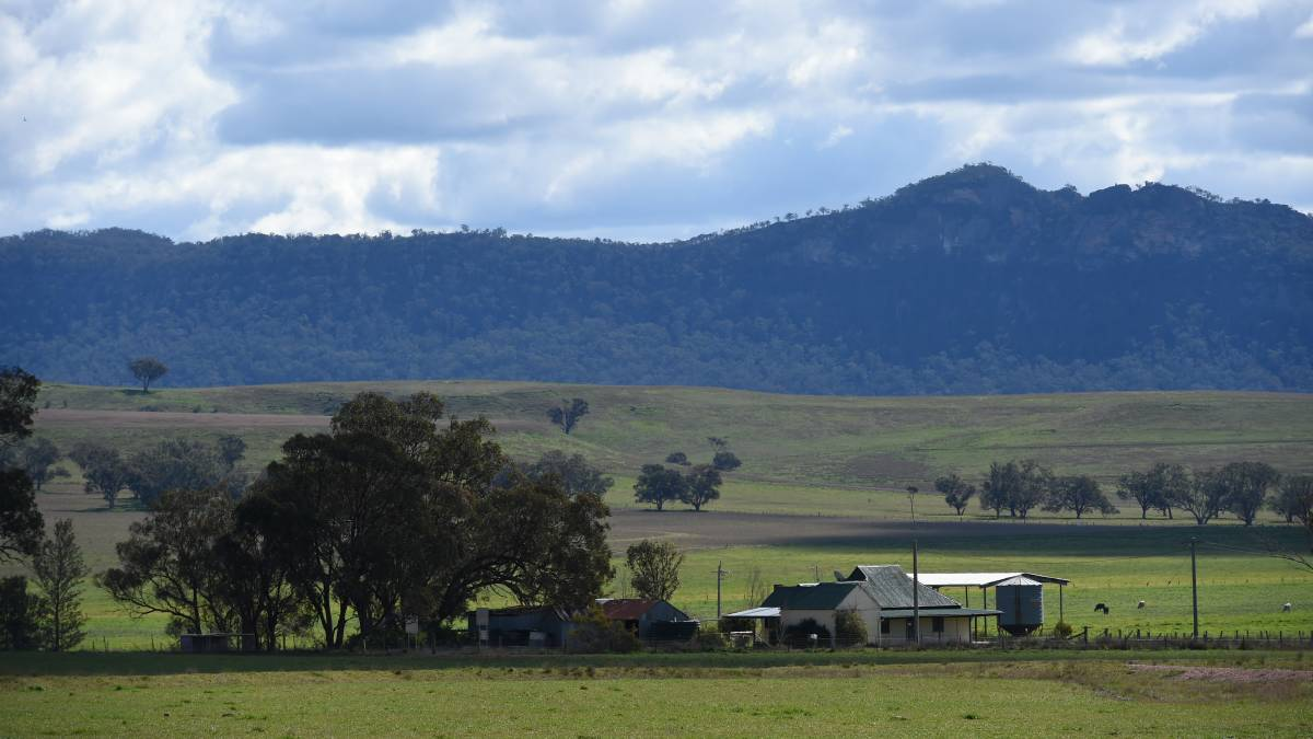 Pristine: Mt Penny in the Bylong Valley, which boasts some of the state's best agricultural land. KEPCO plans to build a new coal mine in the area. Picture: Brendan Esposito