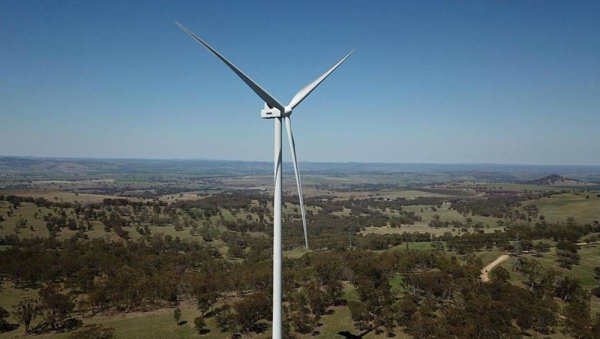 $569 million wind turbine project proposed for the Upper Hunter