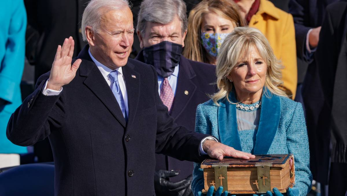 US inauguration: Joe Biden sworn in as 46th President of the United States of America