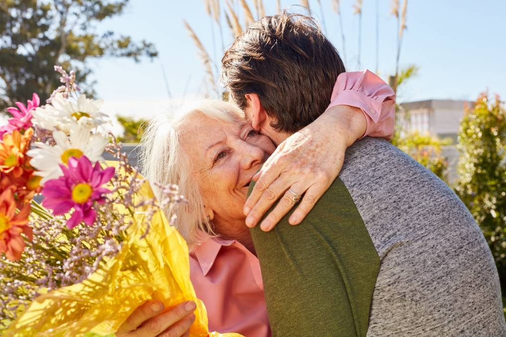LOVE: The perfect Mother's Day gift can be simpler than you think. Photo: Shutterstock.