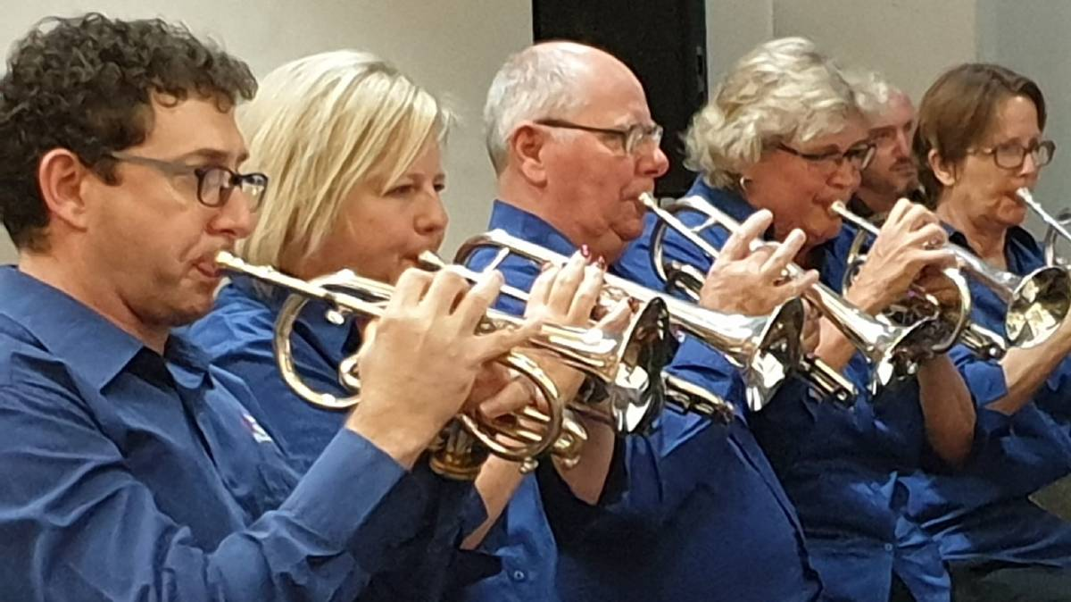 PLAY ON: Toronto Brass invites local musicians, including music students, to join them for a special Anzac Day performance in their driveways this Anzac Day. Picture: Supplied.