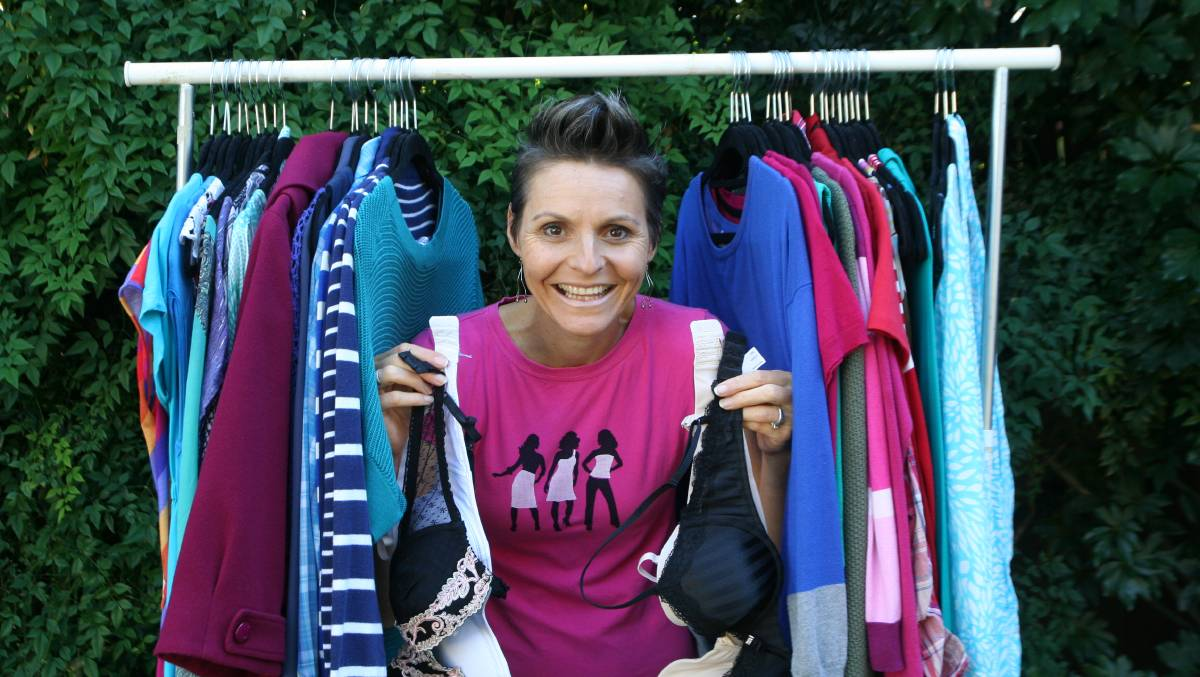 UPLIFTING: Raid My Wardrobe's preloved clothing event is on again.