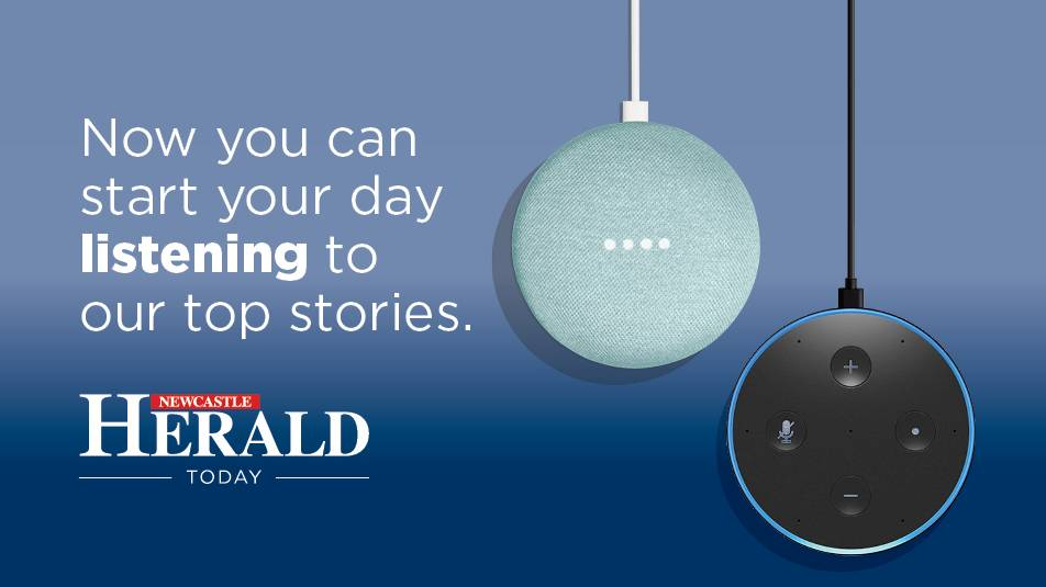 Listen to the Newcastle Herald on your smart speaker today.