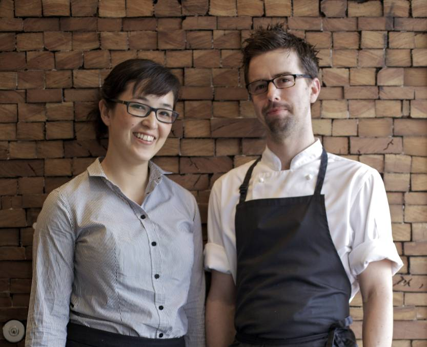 The early years: Suzie Vincent and her husband and chef, Beau, in August, 2012, almost a year after they opened Subo. Picture: Jon Reid