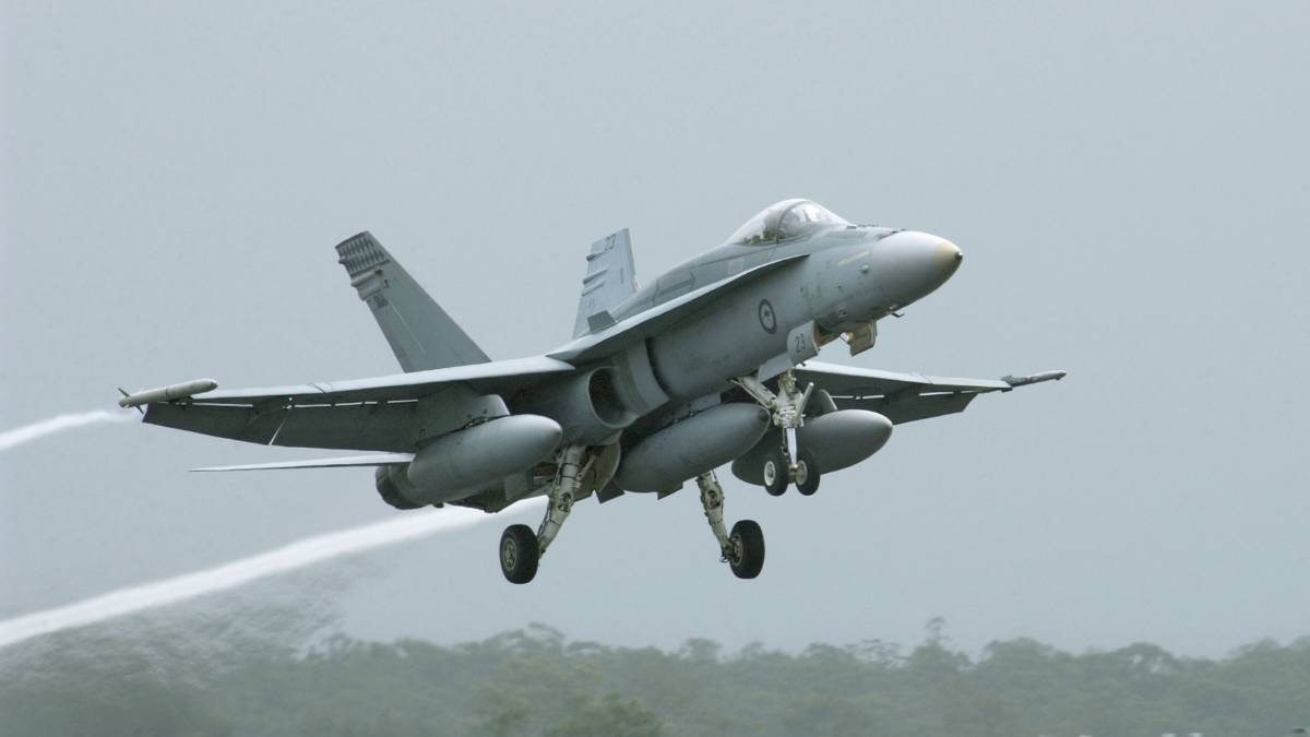 Final F/A-18 Hornet deep service completed at Williamtown RAAF base