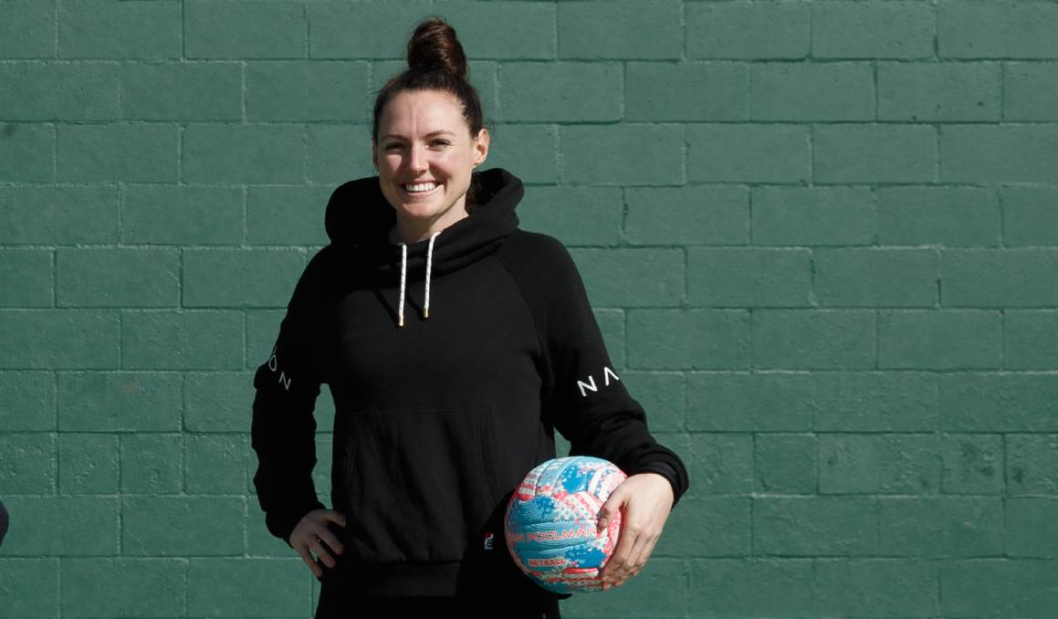 READY: It has been a long time coming but the 2020 Super Netball season is almost here for Newcastle's Sam Poolman. Picture: Max Mason-Hubers
