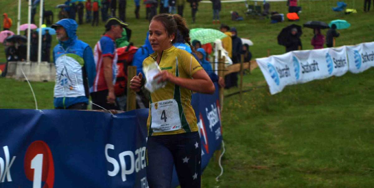 NATIONAL DUTY: Ashtonfield's Nicola Blatchford is looking forward to the experience of competing at the World University Orienteering Championship in Hungary this year.
