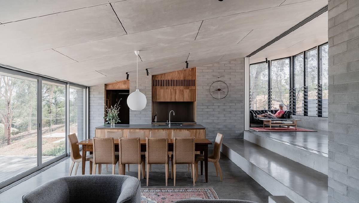 East Street House, Albury NSW, by Kerstin Thompson Architects. Photos by Dan Preston.