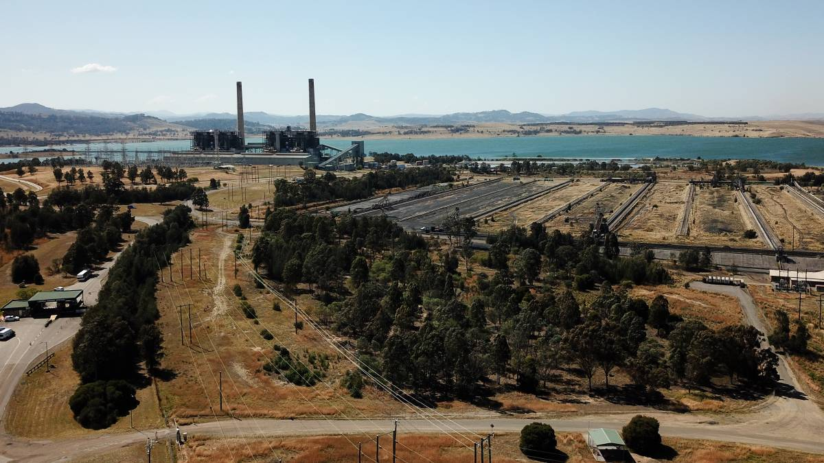 Future: AGL's Liddell coal-fired power station near Muswellbrook which is expected to close by April, 2023. Picture: Janie Barrett.