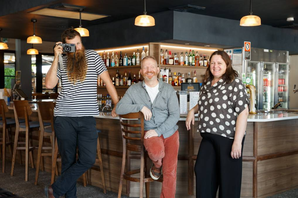 SNAP: Judges Max Mason-Hubers and Stephen and Fidelma Hunt at The Duke of Wellington. Picture: Max Mason-Hubers