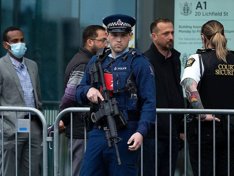 The sentencing of Christchurch terrorist Brenton Tarrant is being held under heavy security.