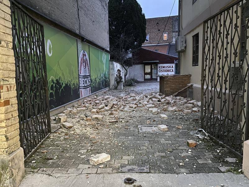 Earthquake Hits Croatia Damages Buildings Newcastle Herald Newcastle Nsw