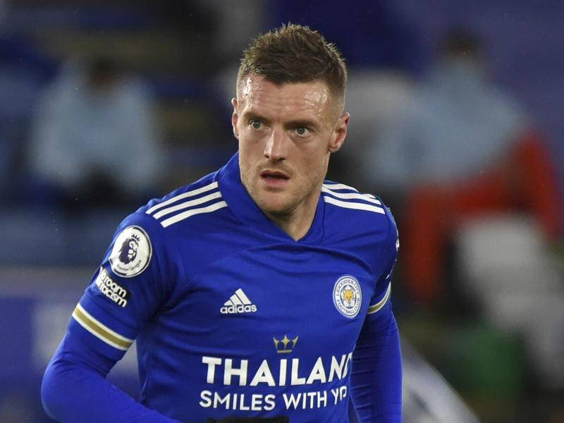Leicester's Jamie Vardy will miss