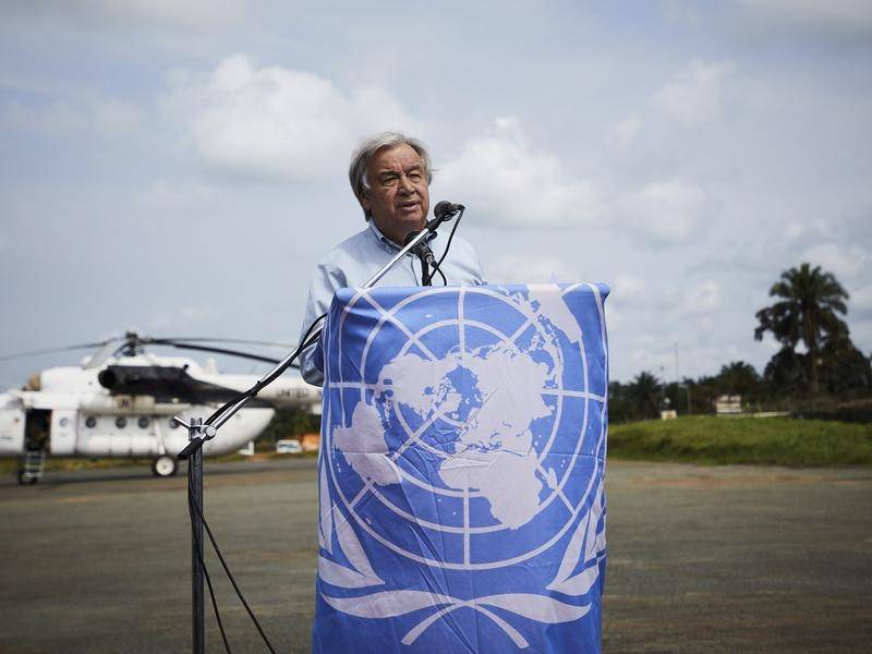 Human rights groups say UN Secretary General Antonio Guterres must act on China's Muslim Uighurs.
