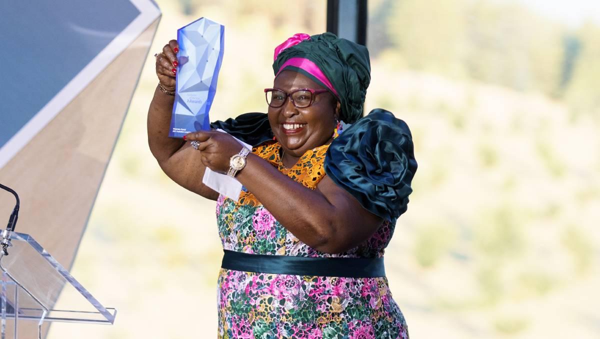 Rosemary Kariuki named Australia's Local Hero for work helping domestic violence victims