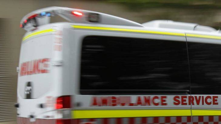 NSW Ambulance.